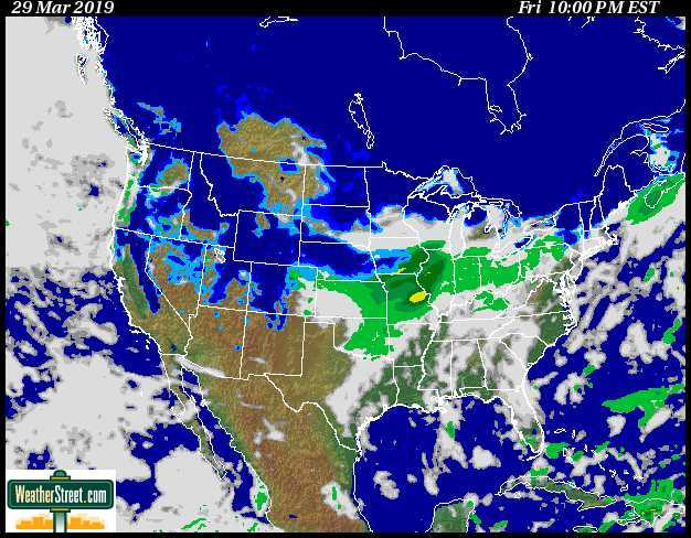 Weather Street: Snowstorm! Current U S  Snowstorm Forecast