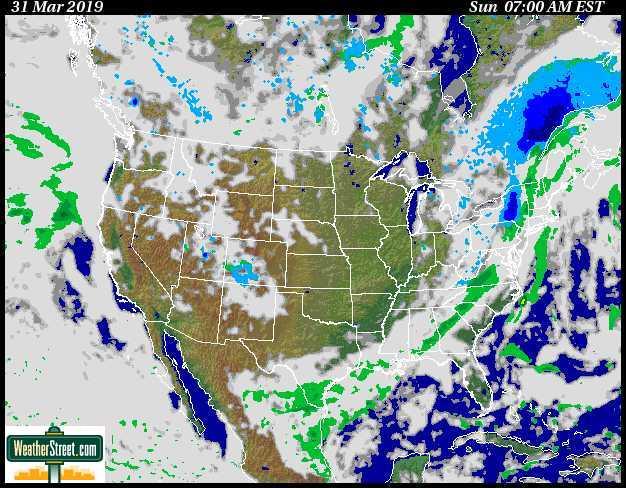 Weather Street: Snowstorm! Current U S  Snowstorm Forecast